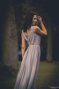 Kobieta w sukni - fotografia Moda, Glamour